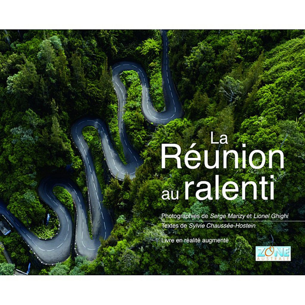 "Reunion Island Slow Motion"", an augmented reality book"